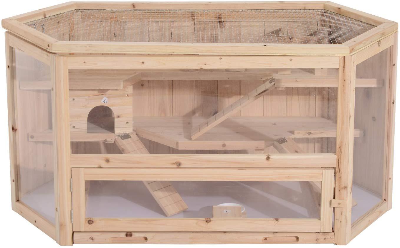 aménagement de cage idéal pour votre hamster russe